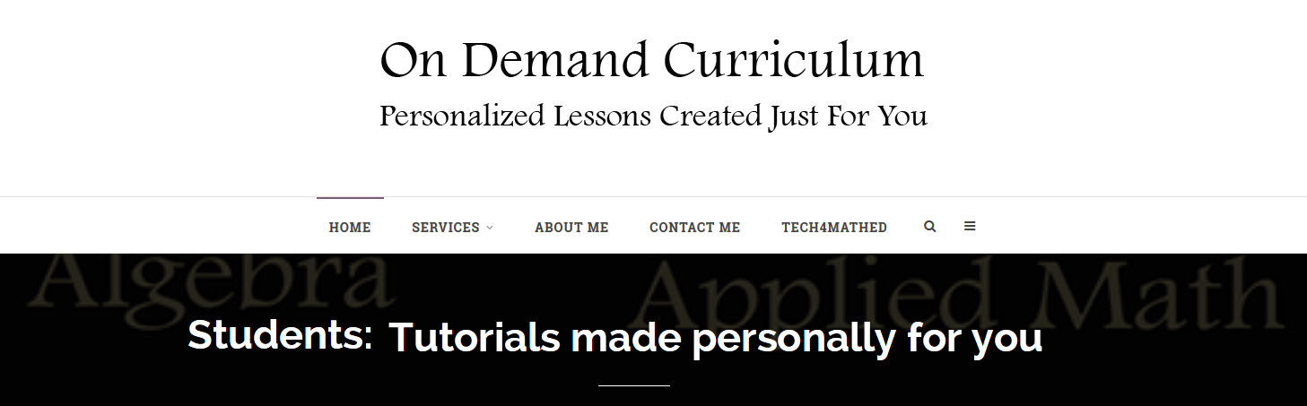 Blog Post Header On Demand Curriculum
